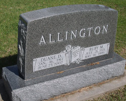 Ruby Maxine <i>Retchless</i> Allington