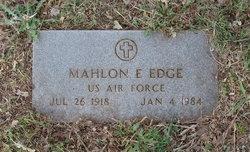 Mahlon E Edge
