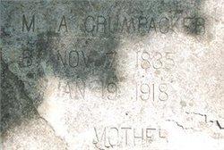 Mary Agnes <i>Arehart</i> Crumpacker