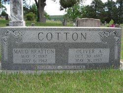 Maud <i>Bratton</i> Cotton