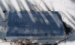 Evelyn Faye <i>Thompson</i> Woods