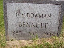 Ivy <i>Bowman</i> Bennett