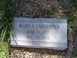 Mary A. <i>Glenn</i> Carpenter
