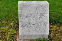 Francis Marion Eckman
