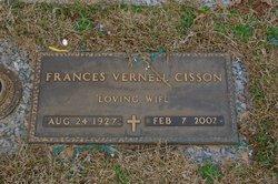 Frances Vernell <i>Baker</i> Cisson