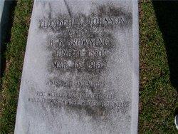 Elizabeth <i>Johnson</i> Browning