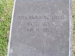 Lydia <i>Browning</i> Dame