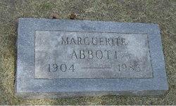 Marguerite Abbott