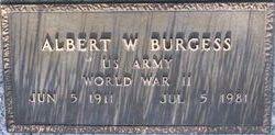 Albert W. Burgess