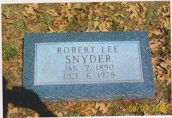 Robert Lee Snyder