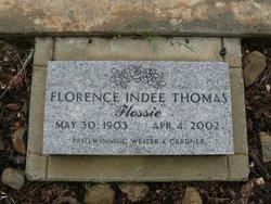 Florence Indee <i>Westerman</i> Thomas