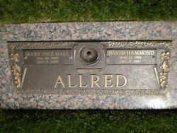 Mary Inez <i>Hall</i> Allred