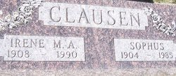 Irene M A <i>Thill</i> Clausen