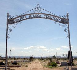 Sierra Blanca Cemetery