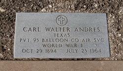 Carl Walter Andres