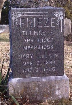 Mary Minerva Molly <i>Hopkins</i> Frieze