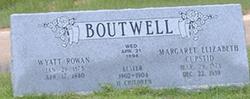 Margaret Elizabeth <i>Cupstid</i> Boutwell