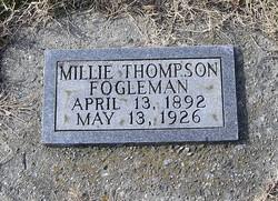 Millie <i>Thompson</i> Fogleman