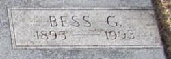 Bess G Adams