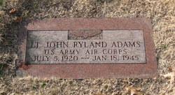 Lieut John Ryland Adams