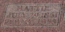 Harriett Hattie <i>Harris</i> Beaman