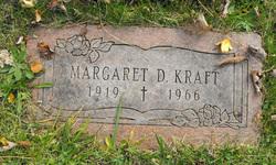 Margaret D <i>Randall</i> Kraft