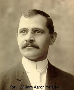 Rev William Aaron Yeisley