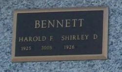 Harold F. Bennett