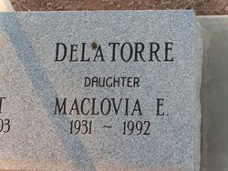 Maclovia E. DeLaTorre