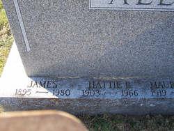 Hattie B <i>Burd</i> Allen