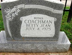 Betty Jean Coachman