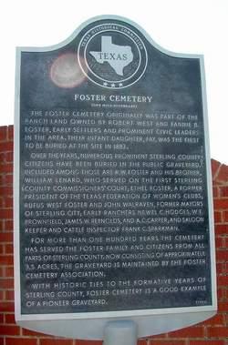 Foster Cemetery
