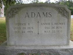 Purvis Rowe Adams