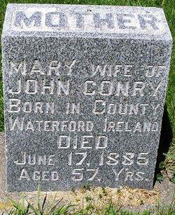 Mary <i>Whalen</i> Conry
