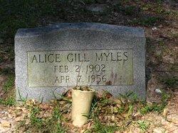 Alice <i>Gill</i> Myles