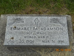 Emmaretta Adamson