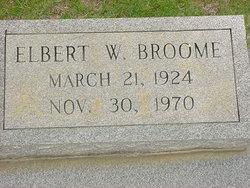 Elbert W Broome