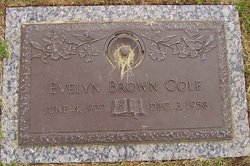 Evelyn Eugenia <i>Brown</i> Cole
