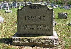 Mary Ann <i>Carter</i> Irvine