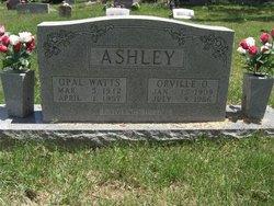 Opal <i>Watts</i> Ashley
