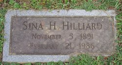 Sina Lee <i>Holmes</i> Hilliard