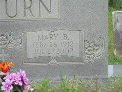Mary Alice <i>Branscome</i> Amburn