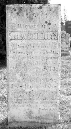 Maria <i>Weidmann</i> Buchholtz