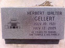 Herbert Walter Gellert