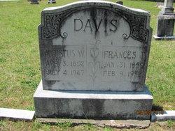 Augustus W Davis