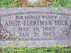 Addie <i>Perryman</i> Buck