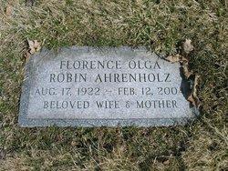 Florence Olga <i>Robin</i> Ahrenholz