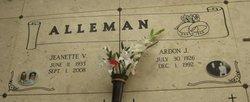 Ardon J Alleman
