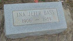 Ina <i>Jeter</i> Bass
