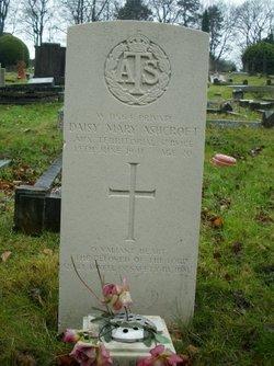 Pvt Daisy Mary Ashcroft